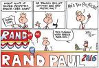 Joel Pett  Joel Pett's Editorial Cartoons 2014-02-28 2016 election Rand Paul