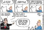 Cartoonist Joel Pett  Joel Pett's Editorial Cartoons 2014-03-12 weapon