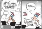 Cartoonist Joel Pett  Joel Pett's Editorial Cartoons 2014-04-15 tax cheat