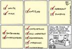 Cartoonist Joel Pett  Joel Pett's Editorial Cartoons 2014-04-24 1950s
