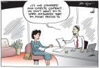 Cartoonist Joel Pett  Joel Pett's Editorial Cartoons 2014-07-16 culture