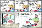 Cartoonist Joel Pett  Joel Pett's Editorial Cartoons 2014-07-23 birthday