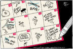 Cartoonist Joel Pett  Joel Pett's Editorial Cartoons 2014-07-31 summer
