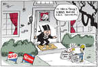 Cartoonist Joel Pett  Joel Pett's Editorial Cartoons 2014-10-30 income inequality