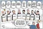 Cartoonist Joel Pett  Joel Pett's Editorial Cartoons 2015-07-15 2016 election Jeb Bush