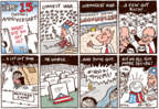 Cartoonist Joel Pett  Joel Pett's Editorial Cartoons 2016-09-11 banner