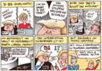 Cartoonist Joel Pett  Joel Pett's Editorial Cartoons 2016-09-28 2016 Republican Debate