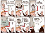 Cartoonist Joel Pett  Joel Pett's Editorial Cartoons 2017-08-05 Donald Trump and Russia