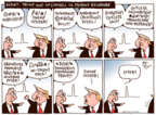 Cartoonist Joel Pett  Joel Pett's Editorial Cartoons 2017-08-25 Mitch