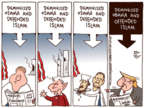 Cartoonist Joel Pett  Joel Pett's Editorial Cartoons 2017-09-12 Barack Obama