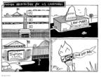 Cartoonist Joel Pett  Joel Pett's Editorial Cartoons 2001-08-09 political symbol