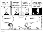 Cartoonist Joel Pett  Joel Pett's Editorial Cartoons 2001-09-27 racism