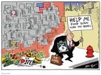 Cartoonist Joel Pett  Joel Pett's Editorial Cartoons 2001-10-28 9-11-01