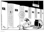 Cartoonist Joel Pett  Joel Pett's Editorial Cartoons 2001-12-14 9-11-01