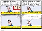 Cartoonist Joel Pett  Joel Pett's Editorial Cartoons 2002-12-15 economics