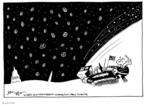 Cartoonist Joel Pett  Joel Pett's Editorial Cartoons 2003-02-19 political symbol