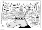 Cartoonist Joel Pett  Joel Pett's Editorial Cartoons 2008-08-26 2008 political convention