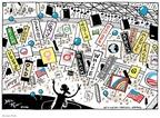 Cartoonist Joel Pett  Joel Pett's Editorial Cartoons 2008-08-29 2008 political convention