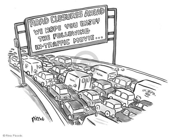 Cartoonist Rina Piccolo  Rina Piccolo's Panel Cartoons 2009-07-06 travel