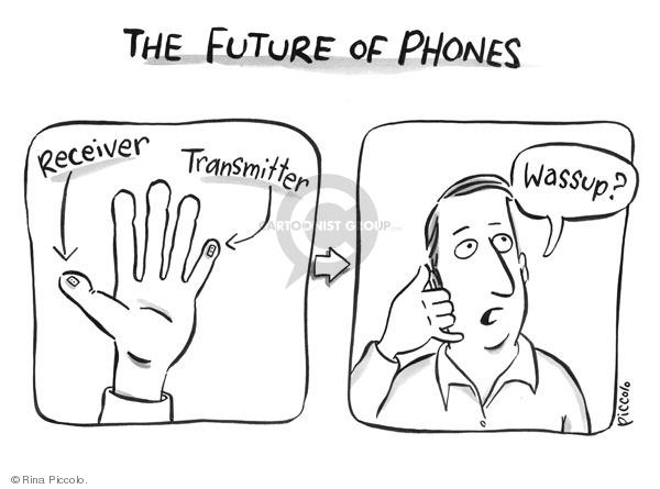 Cartoonist Rina Piccolo  Rina Piccolo's Panel Cartoons 2009-07-23 future technology