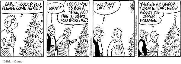 Comic Strip Brian Crane  Pickles 2008-12-05 familiarity