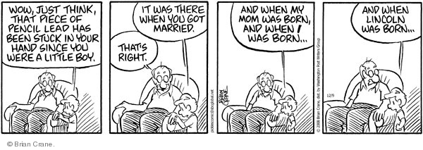 Comic Strip Brian Crane  Pickles 2008-12-09 lead