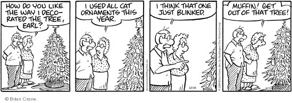 Comic Strip Brian Crane  Pickles 2008-12-15 climb tree