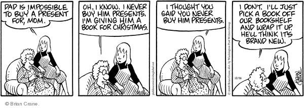 Comic Strip Brian Crane  Pickles 2008-12-16 memory