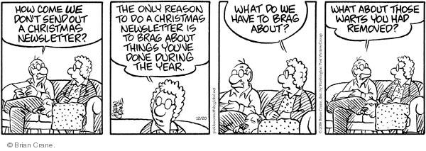 Comic Strip Brian Crane  Pickles 2008-12-20 remove