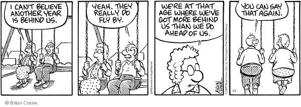 Comic Strip Brian Crane  Pickles 2009-01-01 age