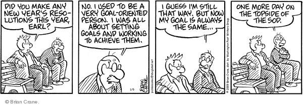 Comic Strip Brian Crane  Pickles 2009-01-05 work