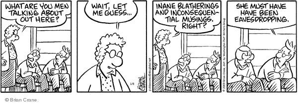 Comic Strip Brian Crane  Pickles 2009-01-08 ridicule