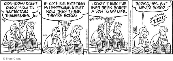 Comic Strip Brian Crane  Pickles 2009-02-20 reflect