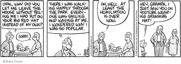 Comic Strip Brian Crane  Pickles 2009-03-12 tube