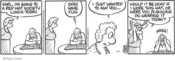 Comic Strip Brian Crane  Pickles 2009-03-14 member