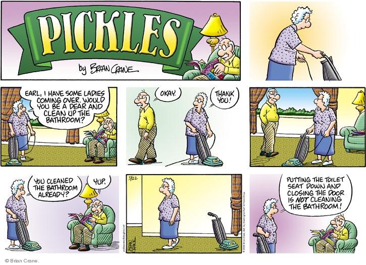 Comic Strip Brian Crane  Pickles 2009-03-22 over