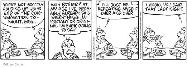Comic Strip Brian Crane  Pickles 2009-03-24 over