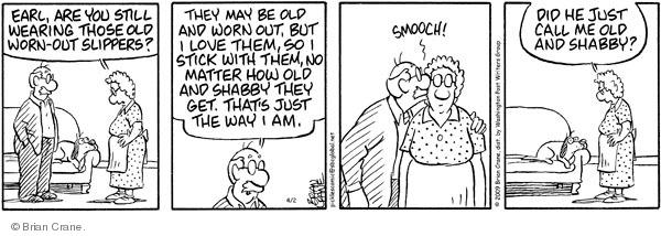 Comic Strip Brian Crane  Pickles 2009-04-02 husband