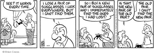 Comic Strip Brian Crane  Pickles 2009-04-15 everywhere