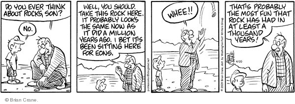 Comic Strip Brian Crane  Pickles 2009-04-20 million