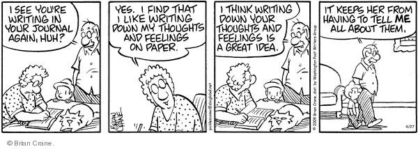 Comic Strip Brian Crane  Pickles 2009-04-27 share