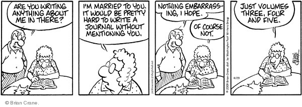 Comic Strip Brian Crane  Pickles 2009-04-29 husband