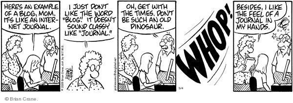 Comic Strip Brian Crane  Pickles 2009-05-04 word