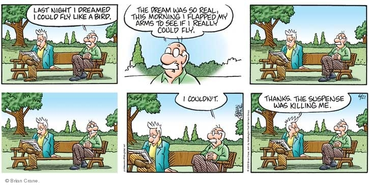 Comic Strip Brian Crane  Pickles 2009-06-21 dream