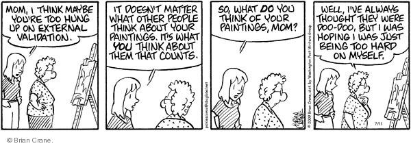 Comic Strip Brian Crane  Pickles 2009-07-11 arts crafts