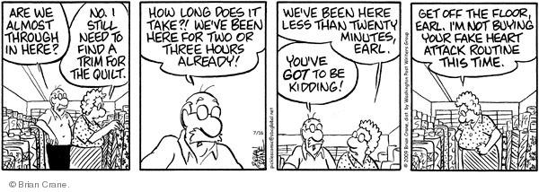 Comic Strip Brian Crane  Pickles 2009-07-16 buy