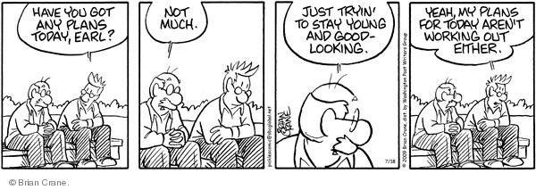 Comic Strip Brian Crane  Pickles 2009-07-18 work