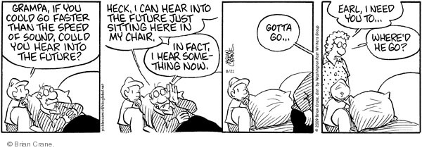 Comic Strip Brian Crane  Pickles 2009-08-21 helpful