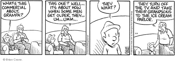 Comic Strip Brian Crane  Pickles 2009-09-08 sexuality