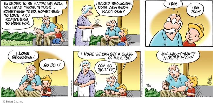 Comic Strip Brian Crane  Pickles 2009-09-20 grandson